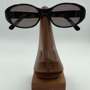 Vintage Calvin Klein Oval Black Sunglasses Frames